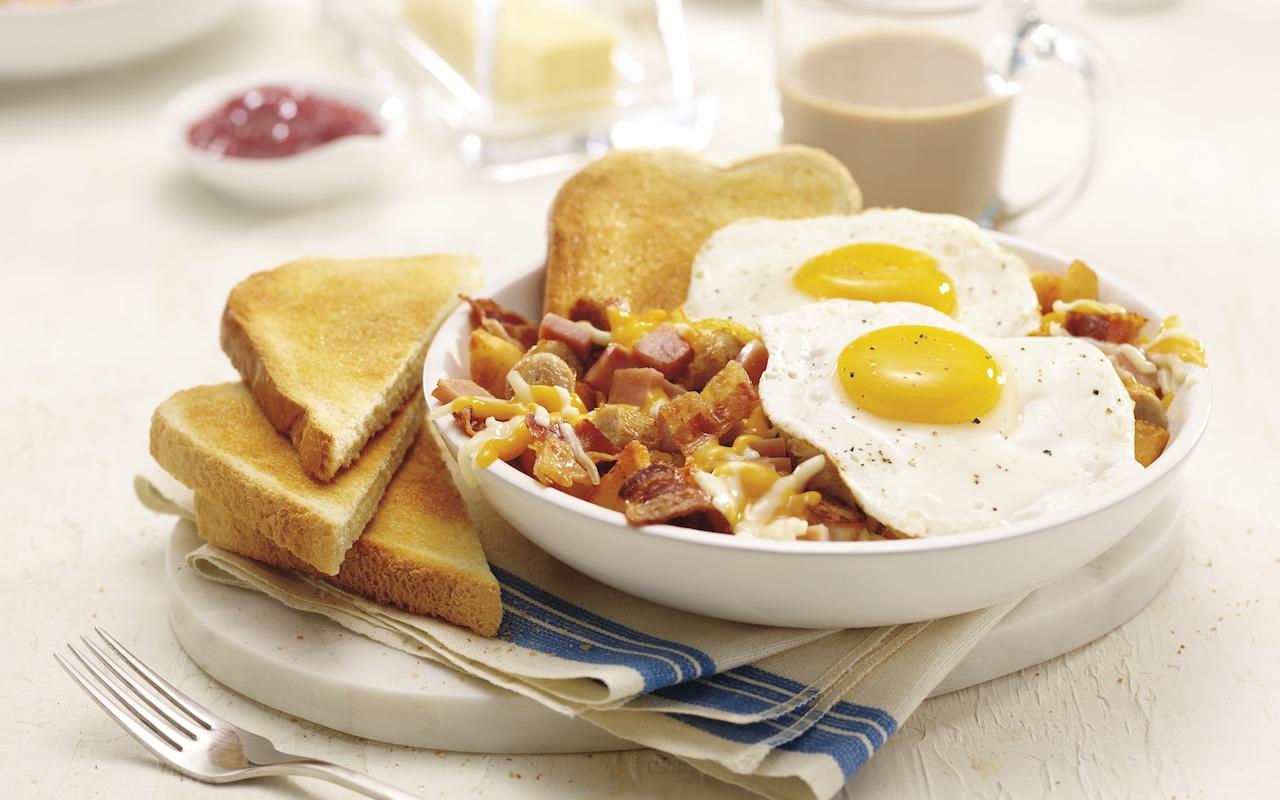 Meat Lovers Breakfast Bowl