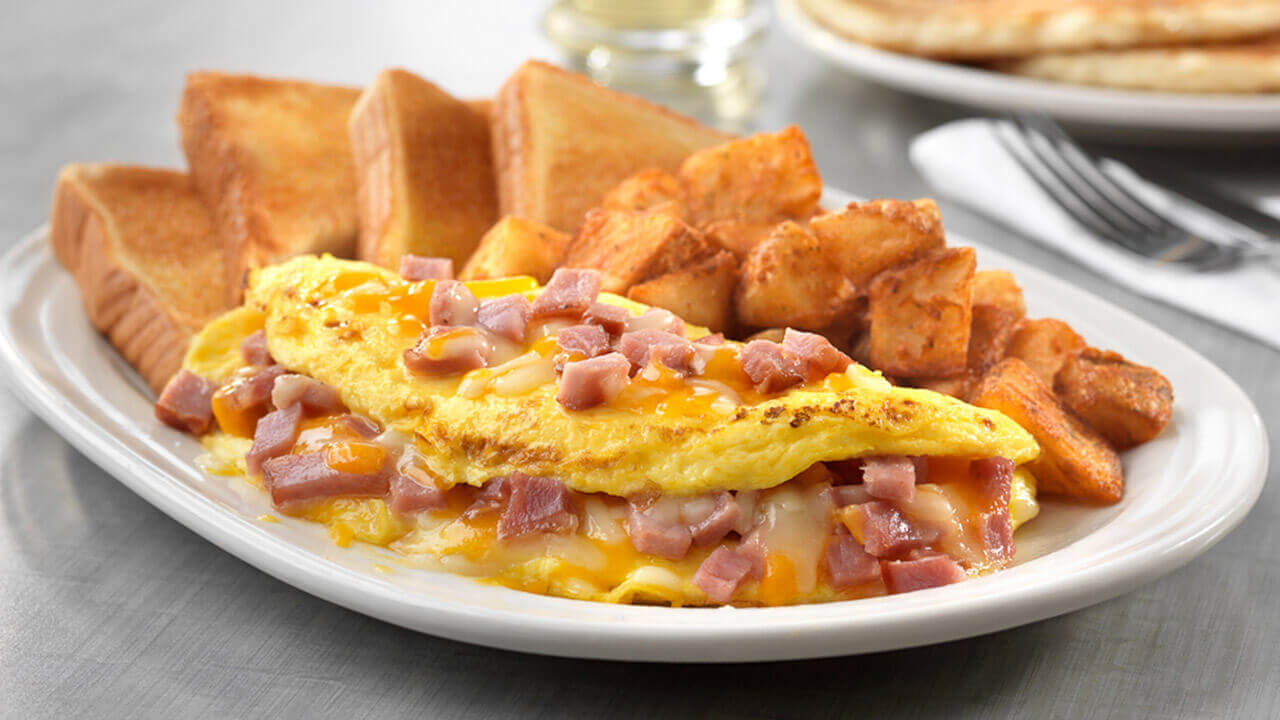 Ham & Cheese Omelet · Friendly's