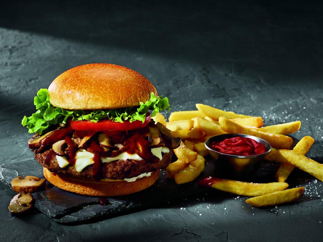 A.1.(R) Steak Burger(t)