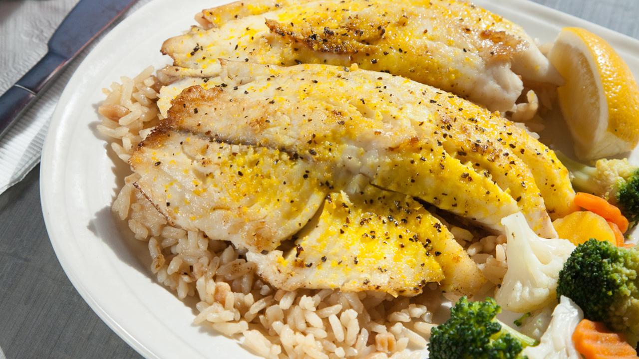 Classic Lemon Pepper Fish