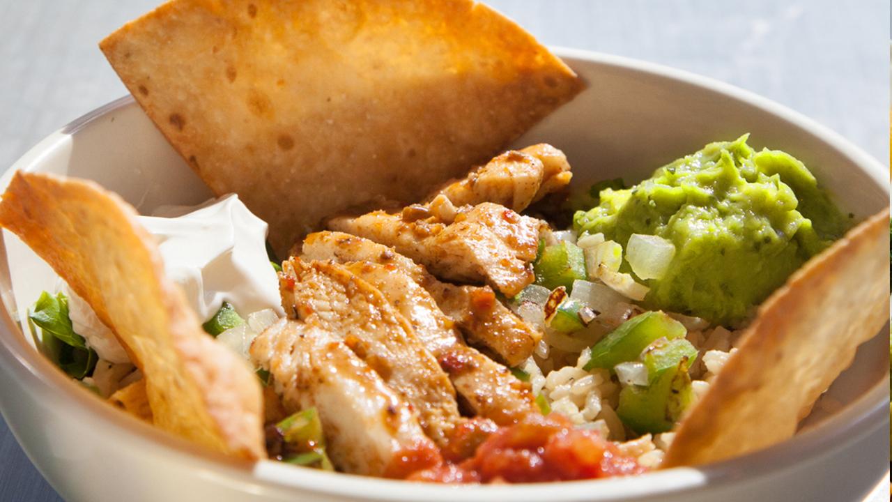 Grilled Chicken Fiesta Bowl