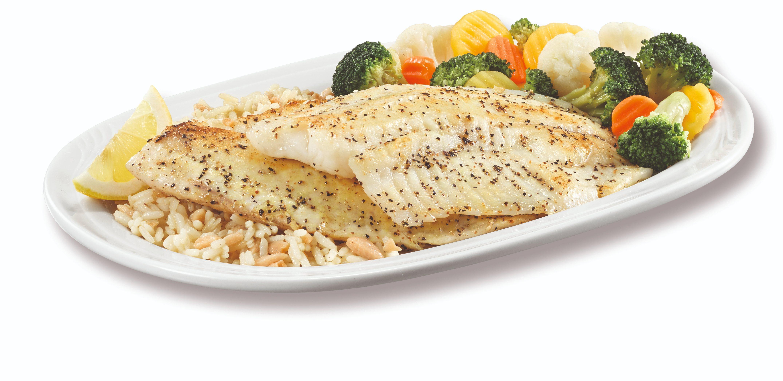 Lemon Pepper Fish Dinner