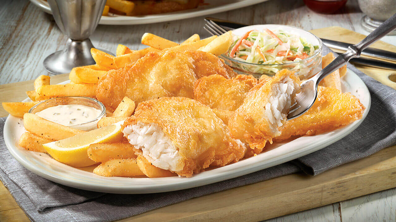 New England Fish 'N' Chips · Friendly's