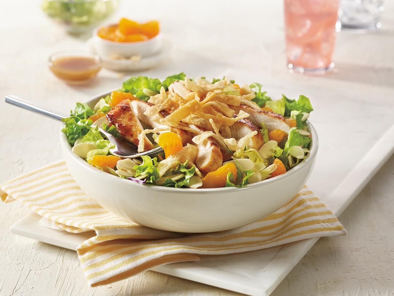 Asian Chicken Entrée Salad