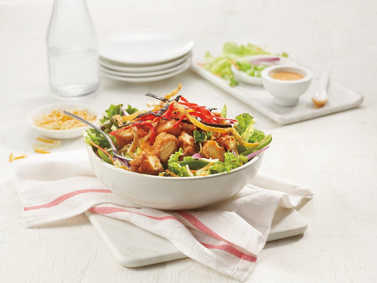 Buffalo Chicken Entrée Salad