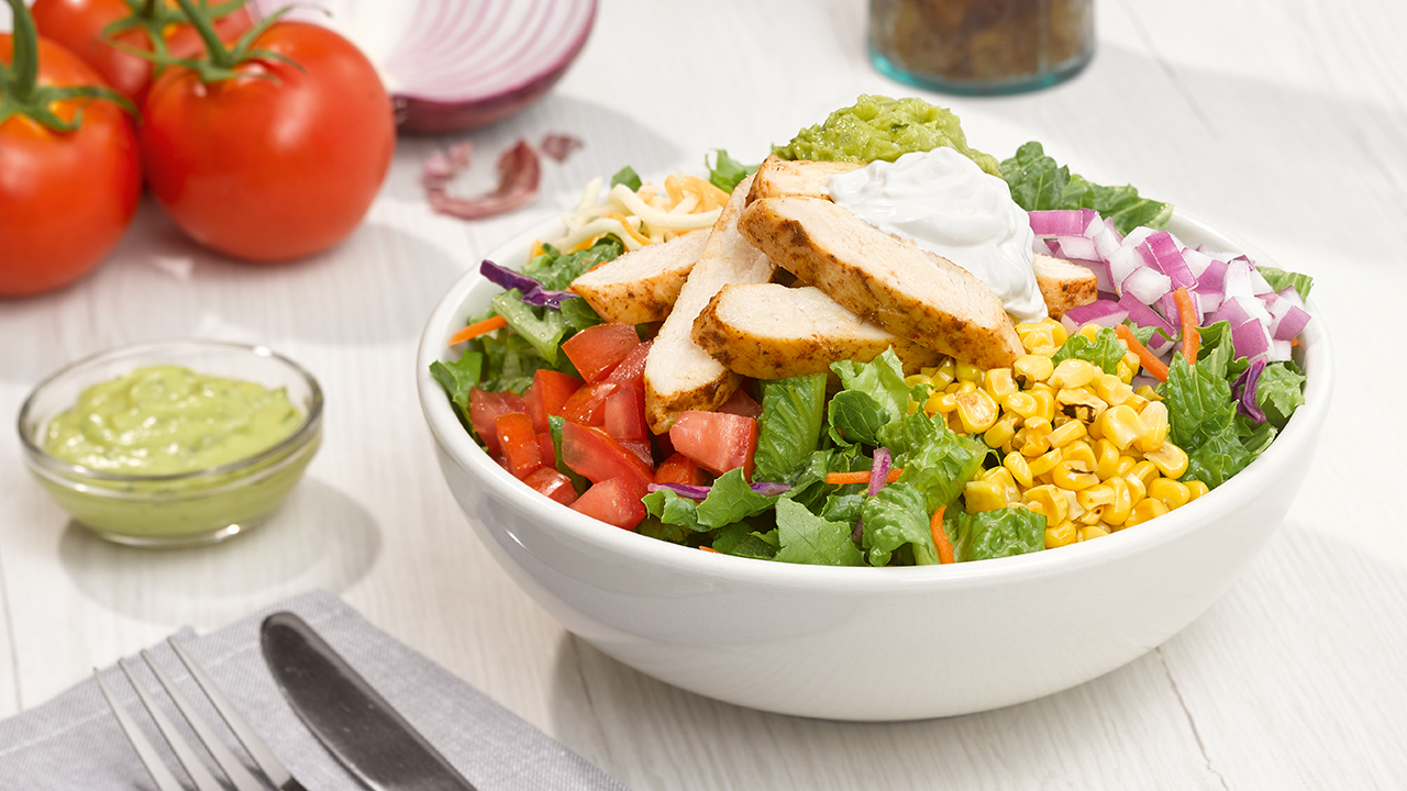 Grilled Southwest Chicken Entree Salad