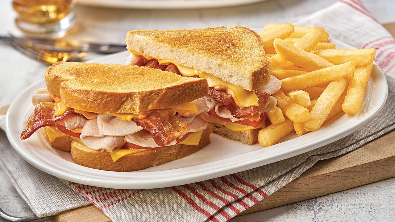 Turkey Club SuperMelt(R) Sandwich