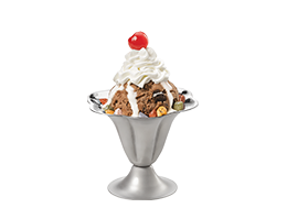 Nor' Easter Pothole Sundae