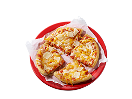 Fried Dough Pizza
