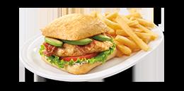Grilled Chicken BLTA Sandwich