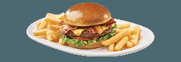 Bacon Cheeseburger(t) & Fries