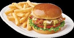 Bacon & Swiss Turkey Burger