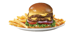 Friendly's Big Beef(R) 1/2 Pound All-American Cheeseburger(t)