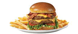 Friendly's Big Beef(R) 1/2 Pound Bacon Cheeseburger(t)