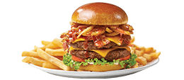 Friendly's Big Beef(R) 1/2 Pound Honey BBQ Burger(t)