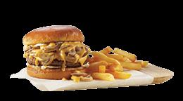 Mushroom Cheese-Mania Burger