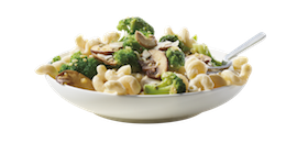 Broccoli Mushroom Mac & Cheese