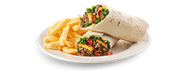 Cheeseburger Wrap