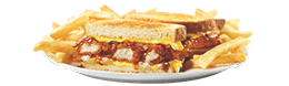 Honey BBQ Chicken SuperMelt(R) Sandwich