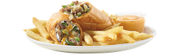 Philly Steak & Cheese Wrap