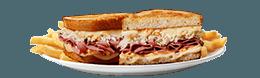 Reuben SuperMelt(R) Sandwich