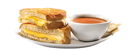Ultimate Grilled Cheese & Soup