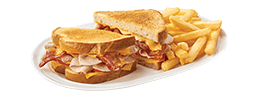 Turkey Club SuperMelt(R) Sandwich