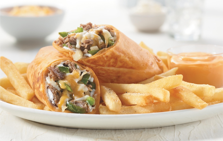Philly Steak and Cheese Wrap