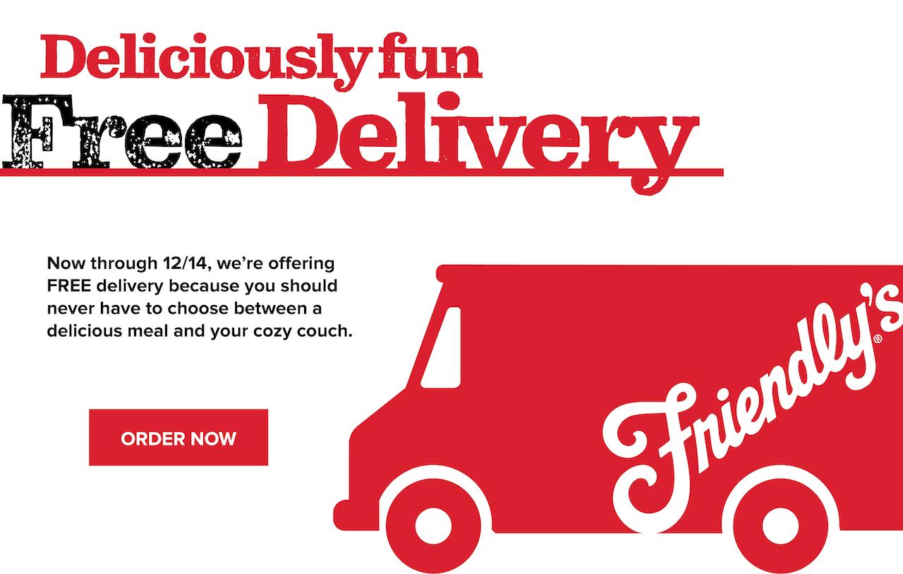 Deliciously fun Free Delivery