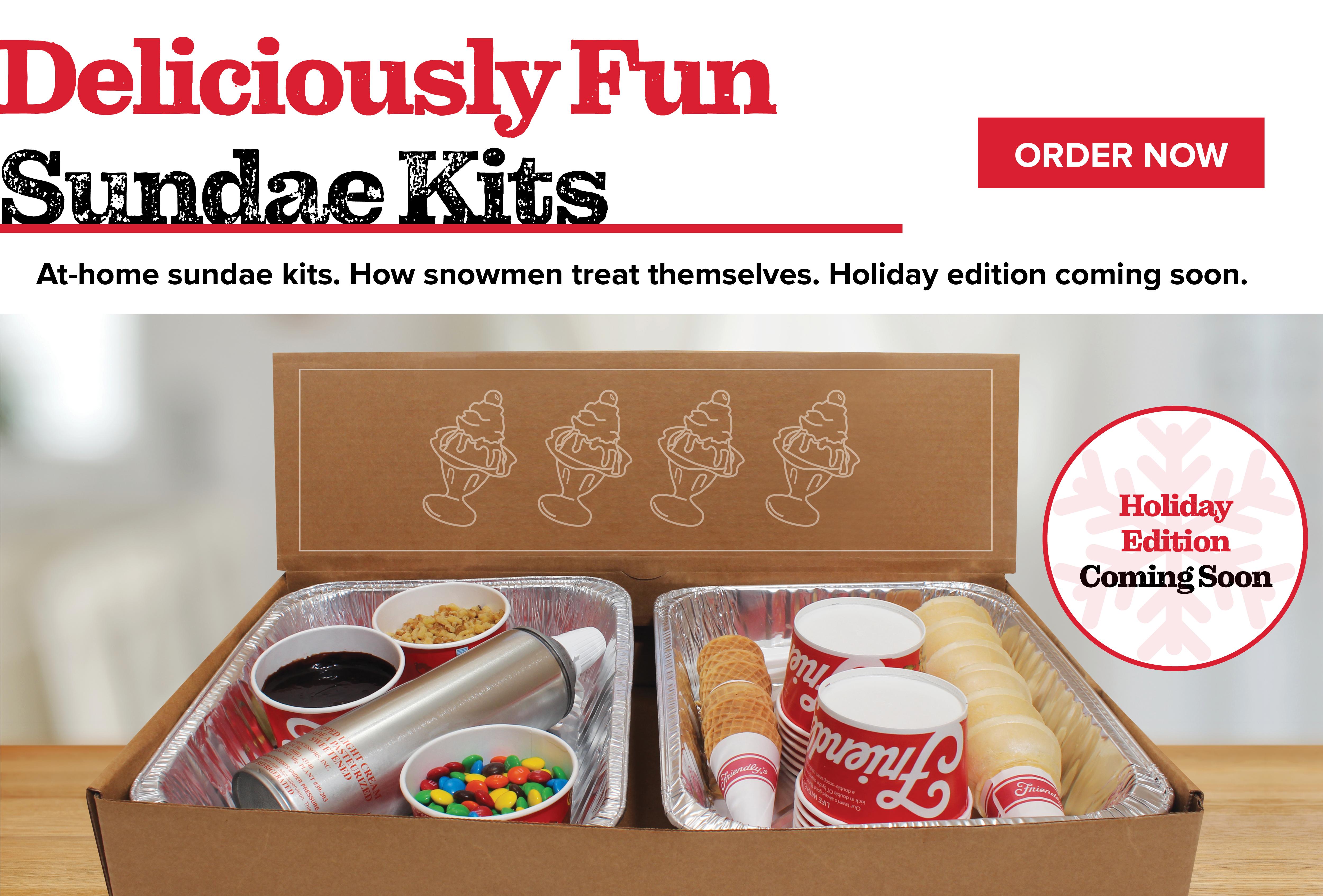 Deliciously Fun Sundae Kits